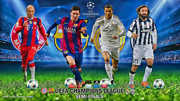 UEFA CHAMPIONS LEAGUE SEMI-FINALS 2015