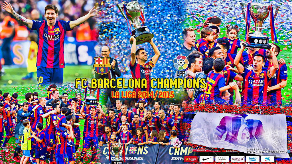 FC BARCELONA CHAMPIONS LA LIGA 2014 - 2015 by jafarjeef on ...