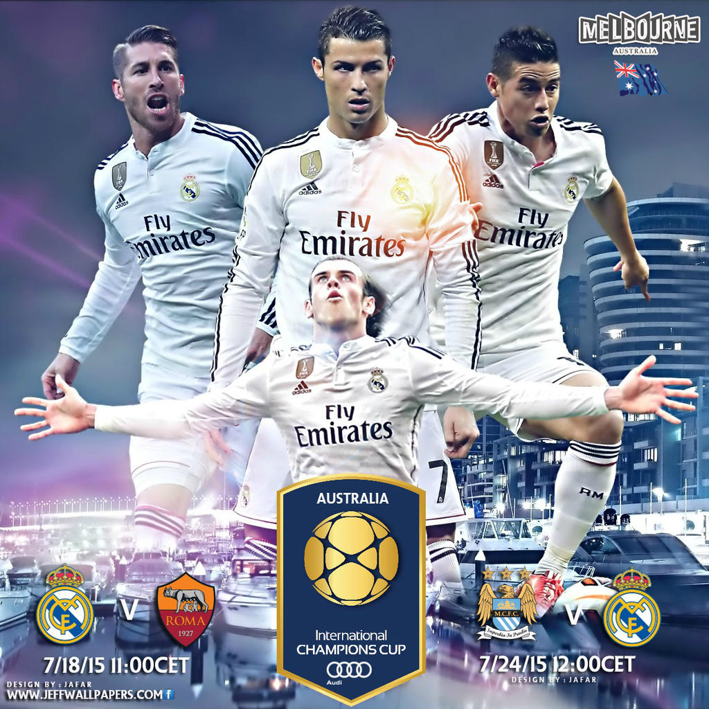 International Champions Cup: REAL MADRID INTERNATIONAL CHAMPIONS CUP 2015 By Jafarjeef