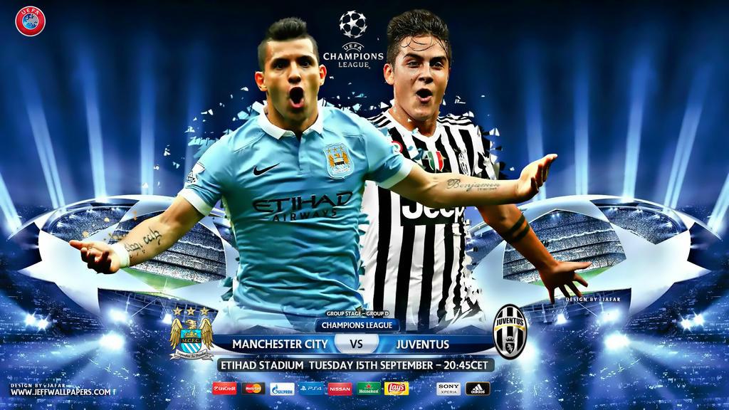 Manchester City Juventus Champions League 2015 By Jafarjeef On Deviantart