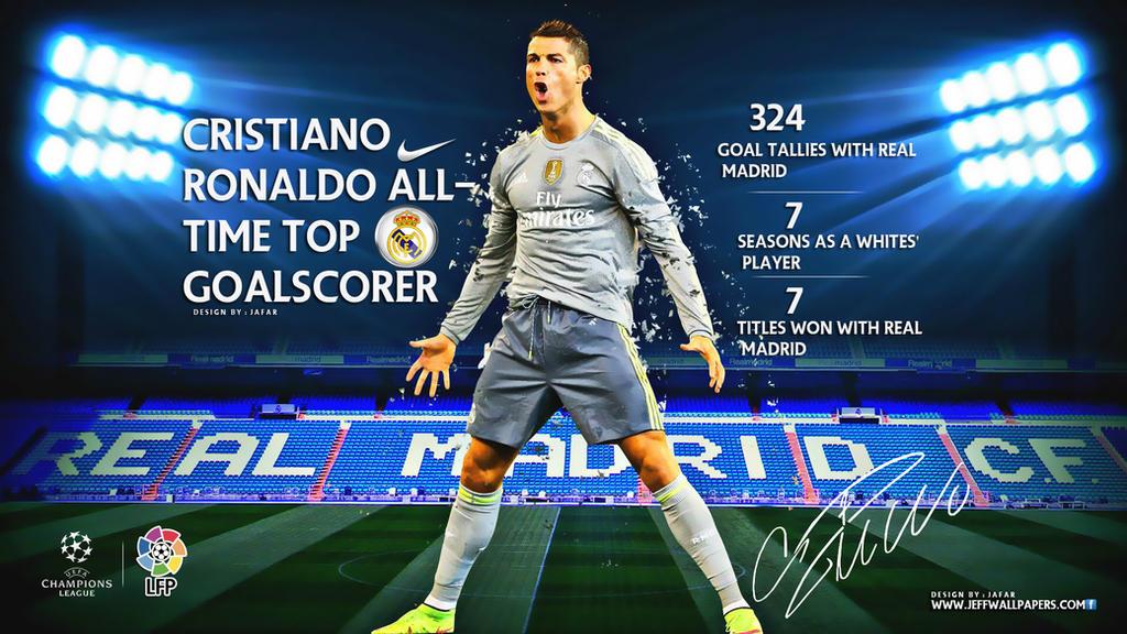Cristiano Ronaldo Real Madrid Wallpaper 2015 By Jafarjeef On Deviantart