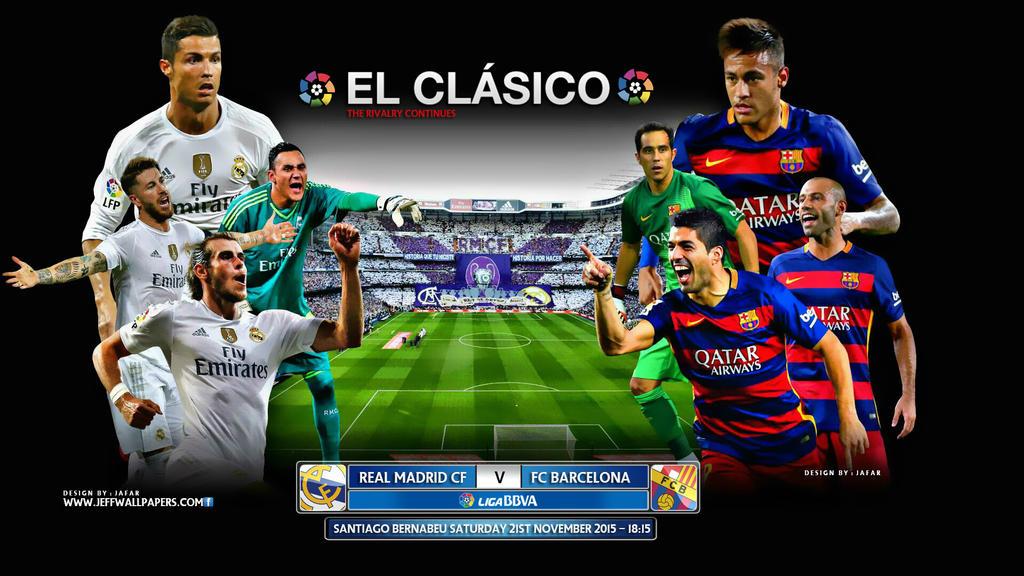real madrid vs barcelona now