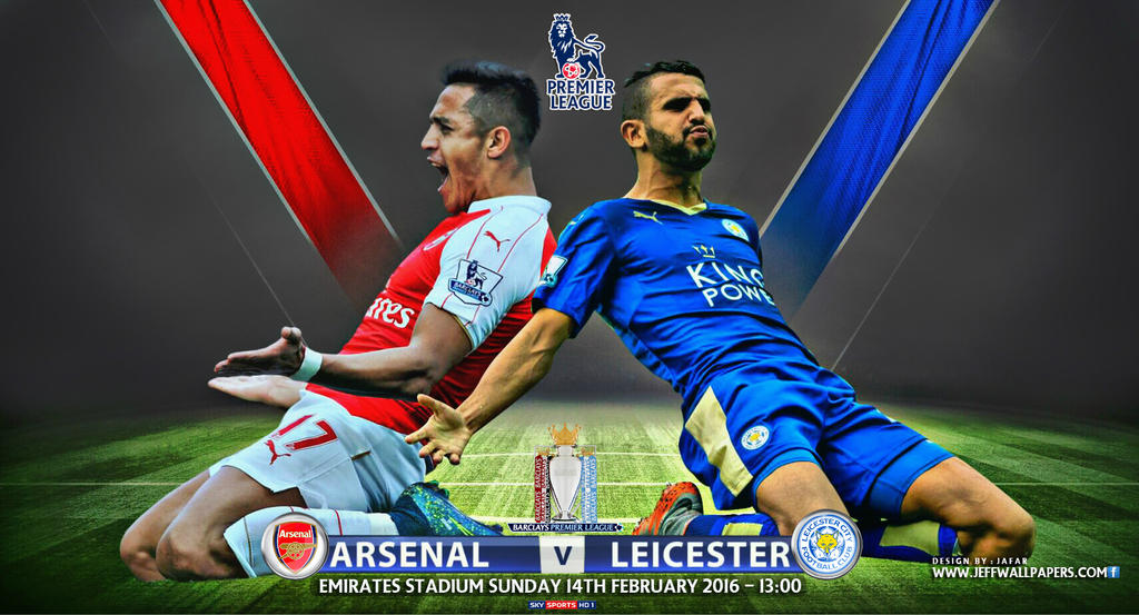 Image result for Arsenal vs Leicester City pic
