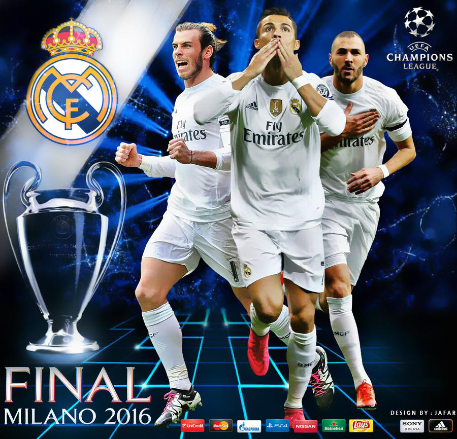 real madrid champions league final 2016 by jafarjeef on deviantart. Black Bedroom Furniture Sets. Home Design Ideas