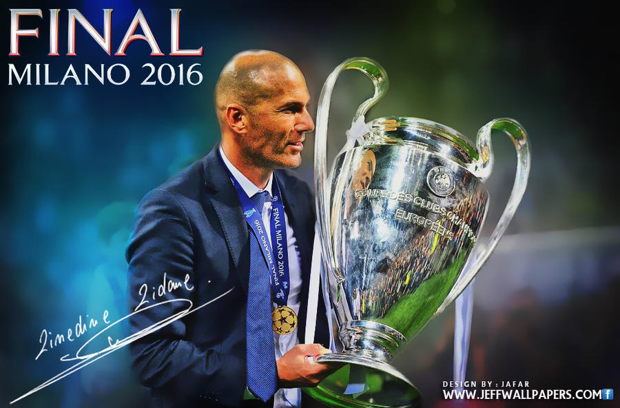 zidane champions league final 2016 by jafarjeef on deviantart. Black Bedroom Furniture Sets. Home Design Ideas