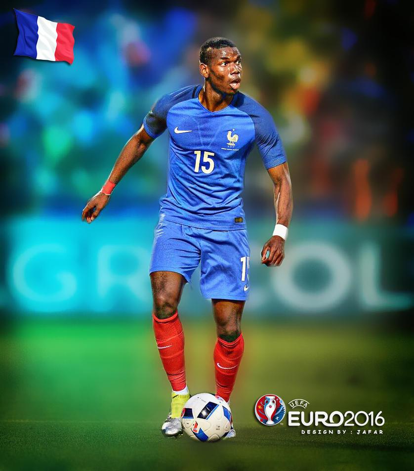POGBA FRANCE EURO 2016 By Jafarjeef On DeviantArt