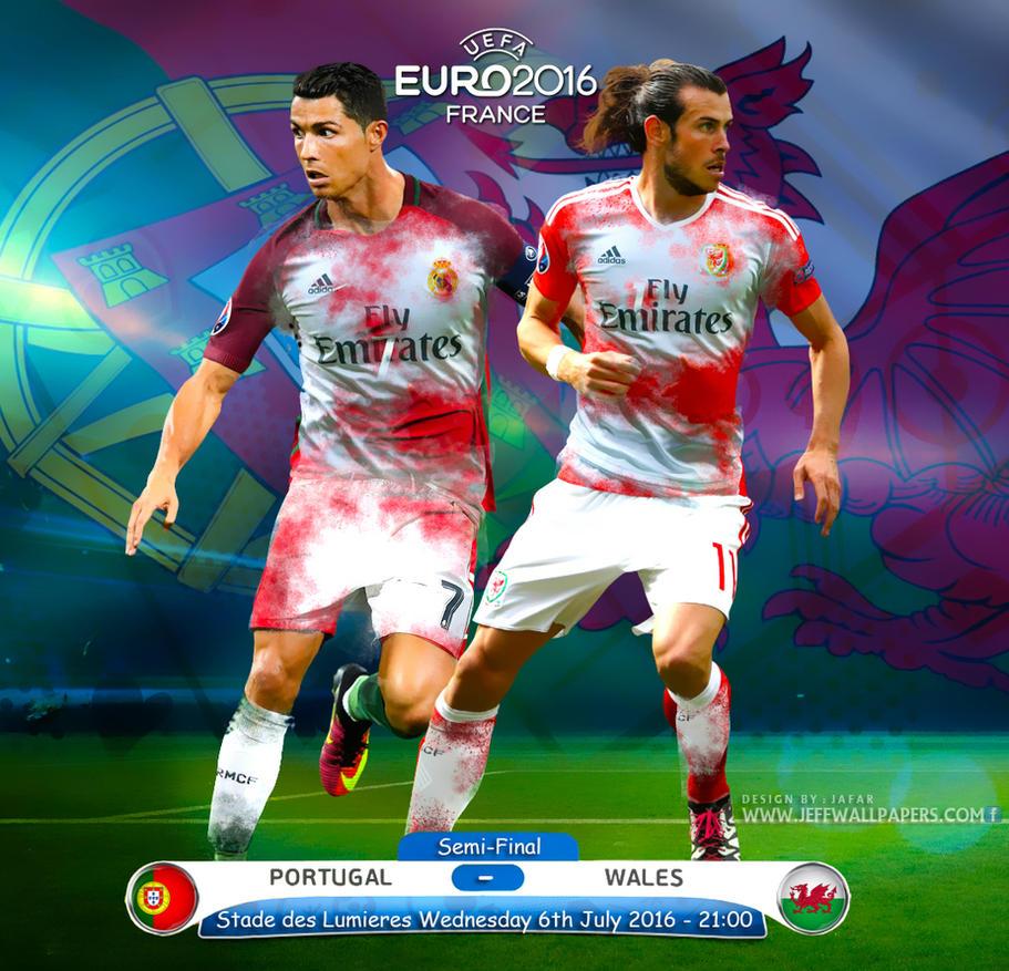 CRISTIANO RONALDO VS GARETH BALE EURO 2016 by jafarjeef on ...