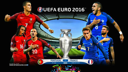 PORTUGAL - FRANCE EURO 2016 FINAL
