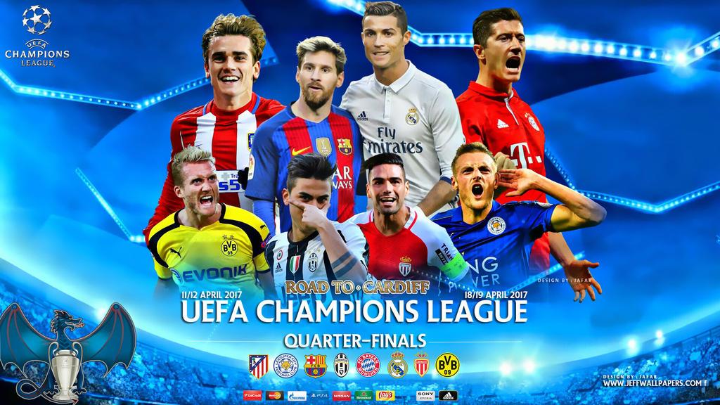 CHAMPIONS LEAGUE QUARTER FINALS 2017 by jafarjeef on ...