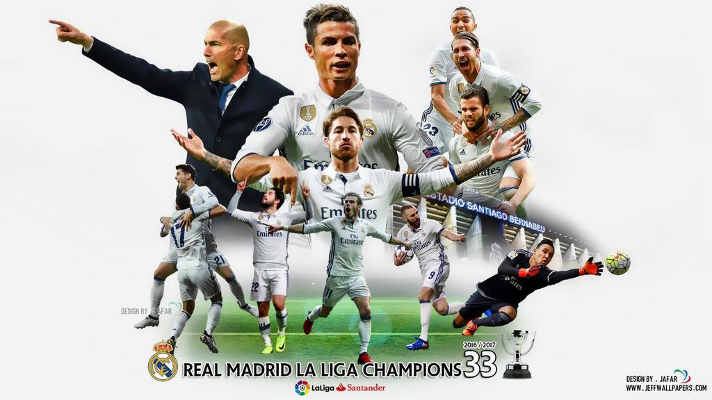 REAL MADRID LA LIGA CHAMPIONS by jafarjeef