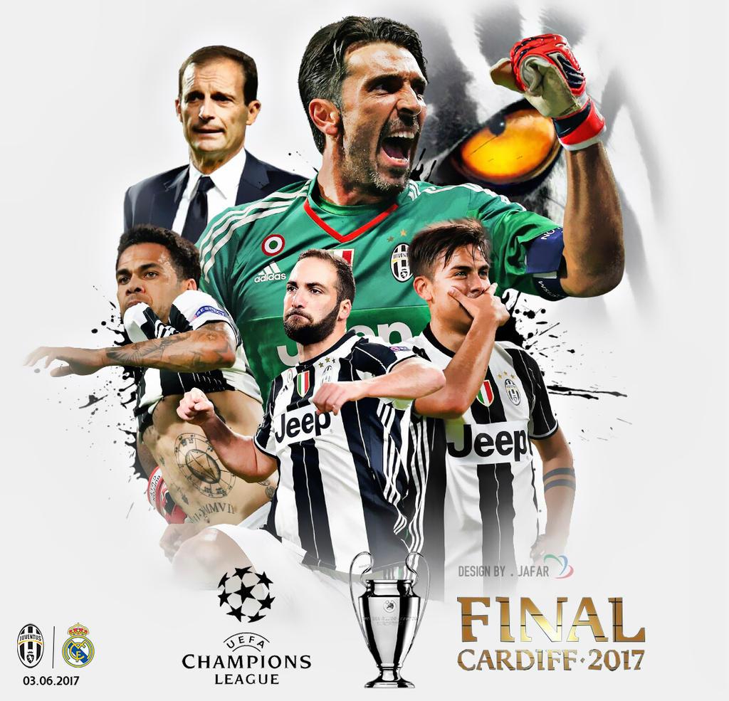 Juventus Champions League Final 2017 Wallpaper By Jafarjeef