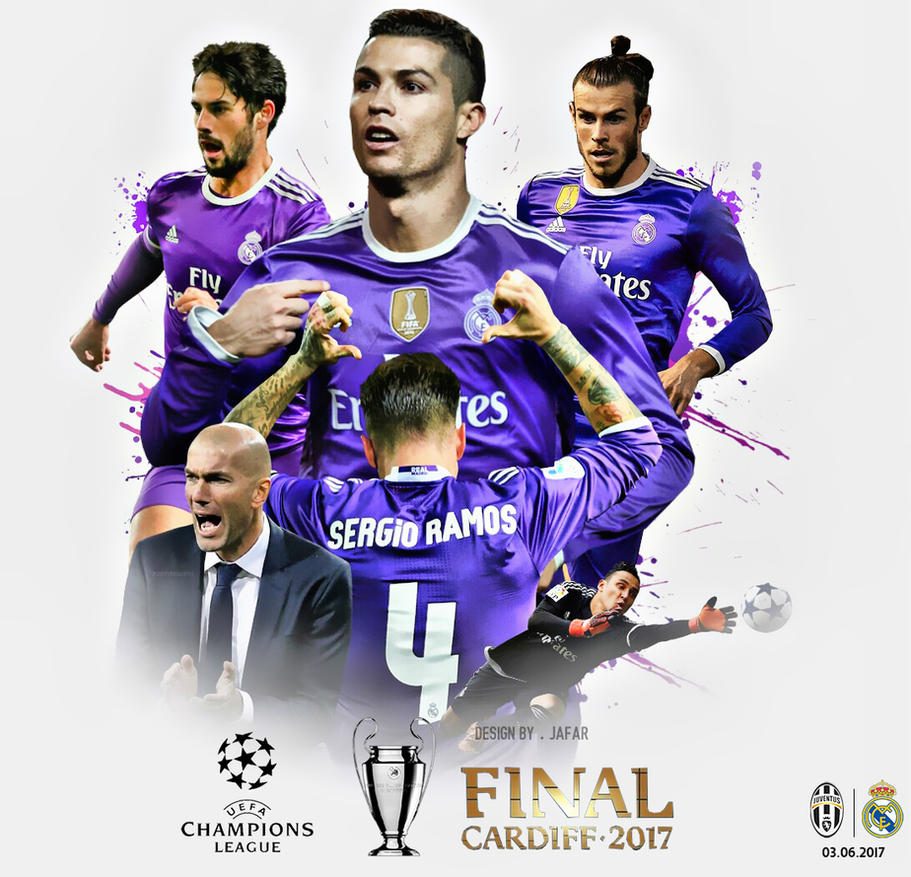 REAL MADRID CHAMPIONS LEAGUE FINAL 2017 WALLPAPER By
