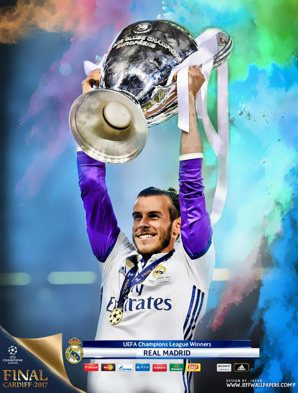 gareth bale champions league final 2017 by jafarjeef on deviantart