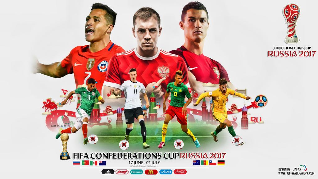 FIFA CONFEDERATIONS CUP RUSSIA 2017 WALLPAPER by jafarjeef