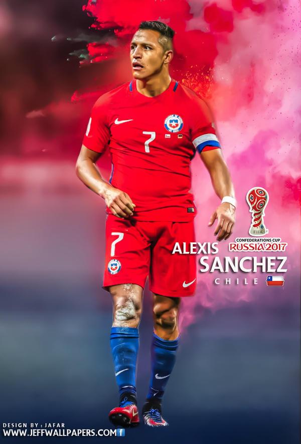 ALEXIS SANCHEZ CONFEDERATIONS CUP RUSSIA 2017 by jafarjeef
