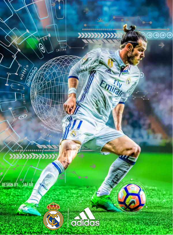 gareth bale real madrid 2017 by jafarjeef on deviantart