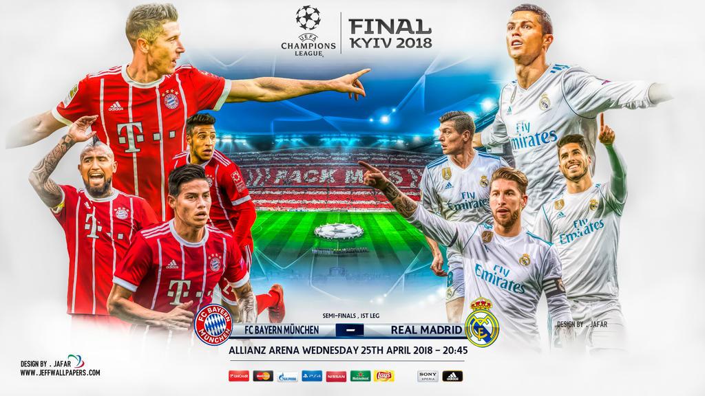 Bayern Munchen Real Madrid Champions League 2018 By Jafarjeef On Deviantart
