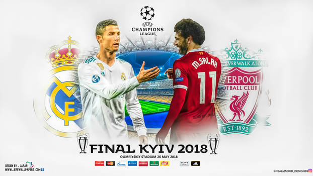 REAL MADRID - LIVERPOOL CHAMPIONS LEAGUE FINAL