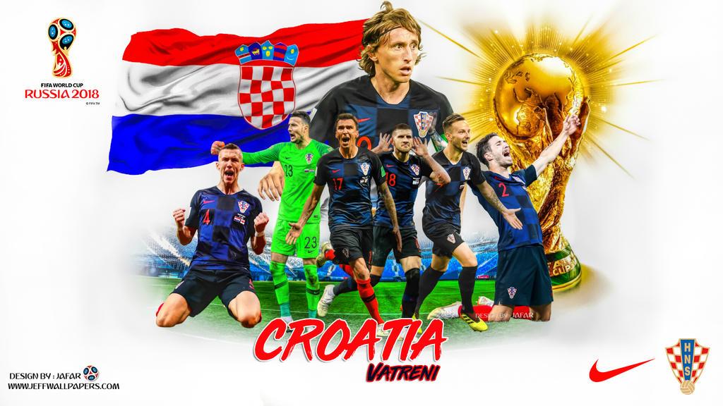 CROATIA WORLD CUP 2018 WALLPAPER by jafarjeef
