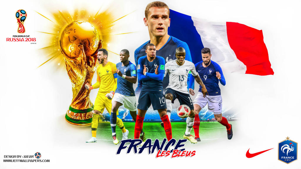 FRANCE FIFA WORLD CUP 2018 by jafarjeef