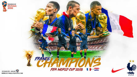 FRANCE CHAMPIONS FIFA WORLD CUP 2018