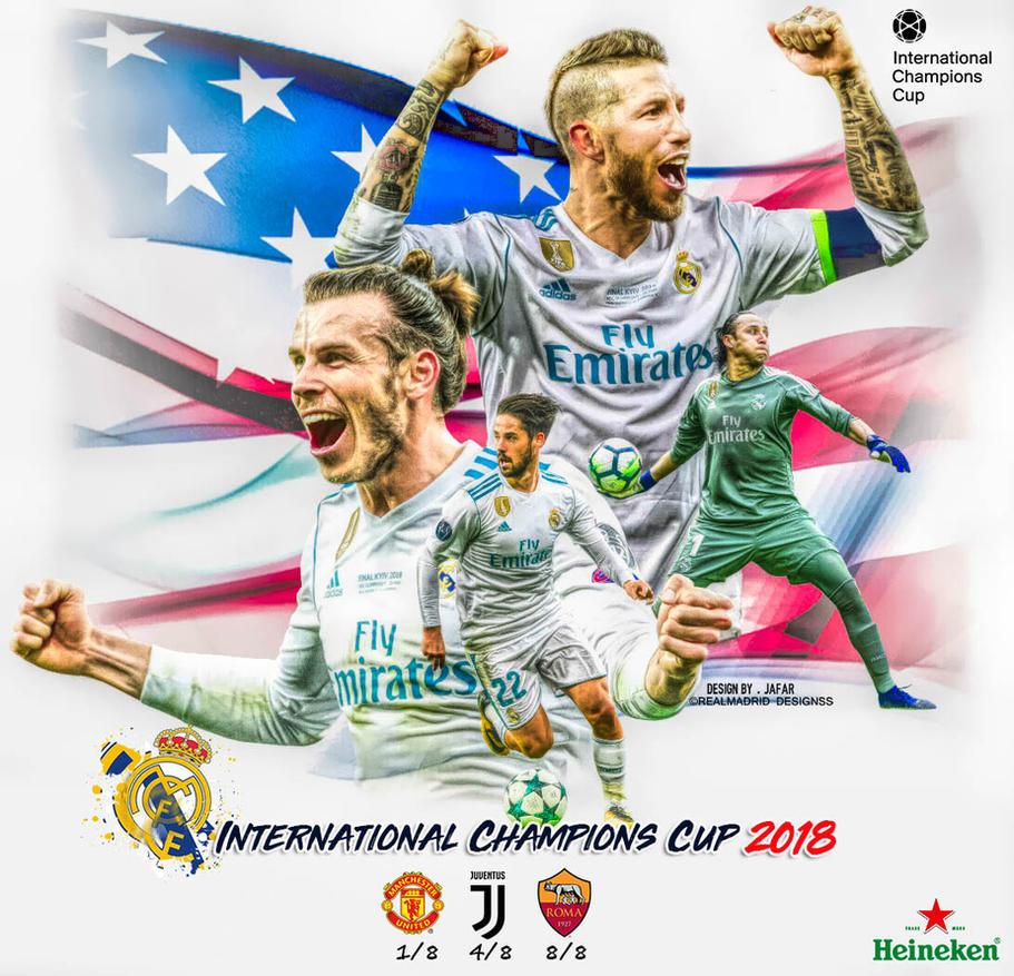INTERNATIONAL CHAMPIONS CUP 2018 by jafarjeef