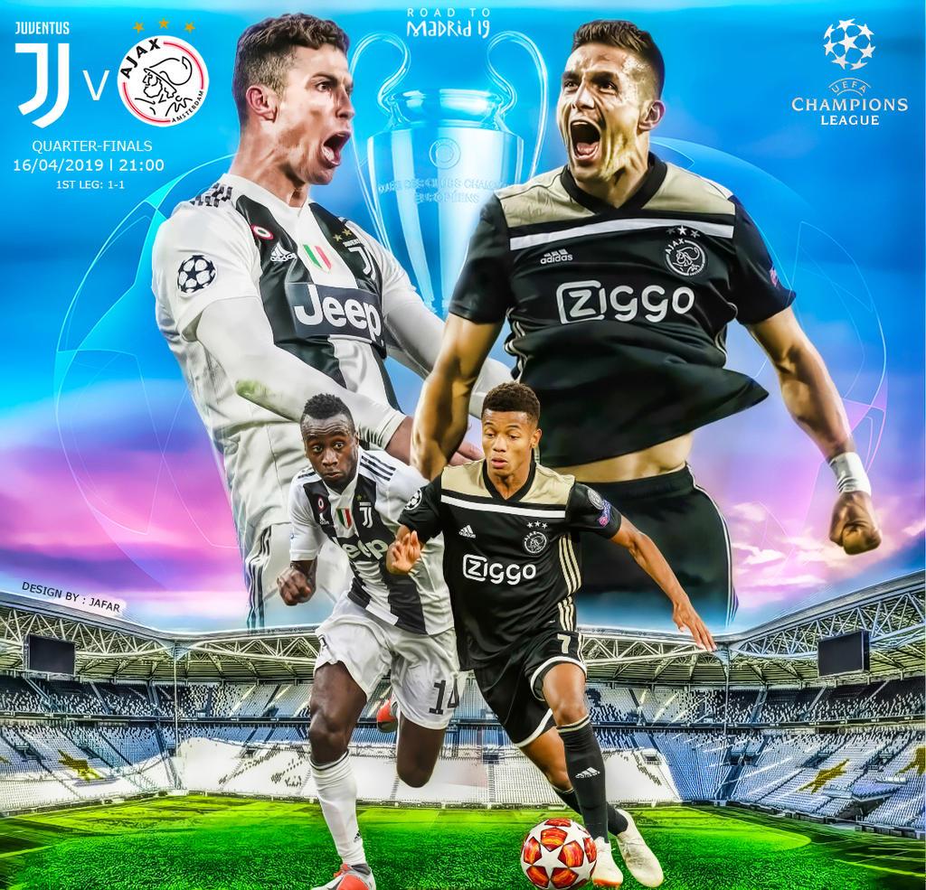 Juventus vs Ajax: Bộ mặt khác của 'Lão bà'
