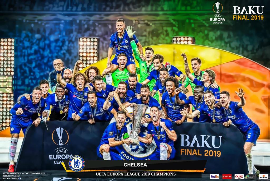 CHELSEA EUROPA LEAGUE 2019 CHAMPIONS By Jafarjeef On