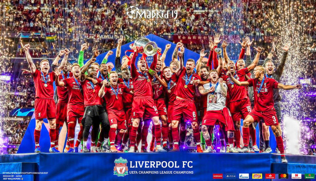 LIVERPOOL CHAMPIONS LEAGUE CHAMPIONS 2019 by jafarjeef on ...