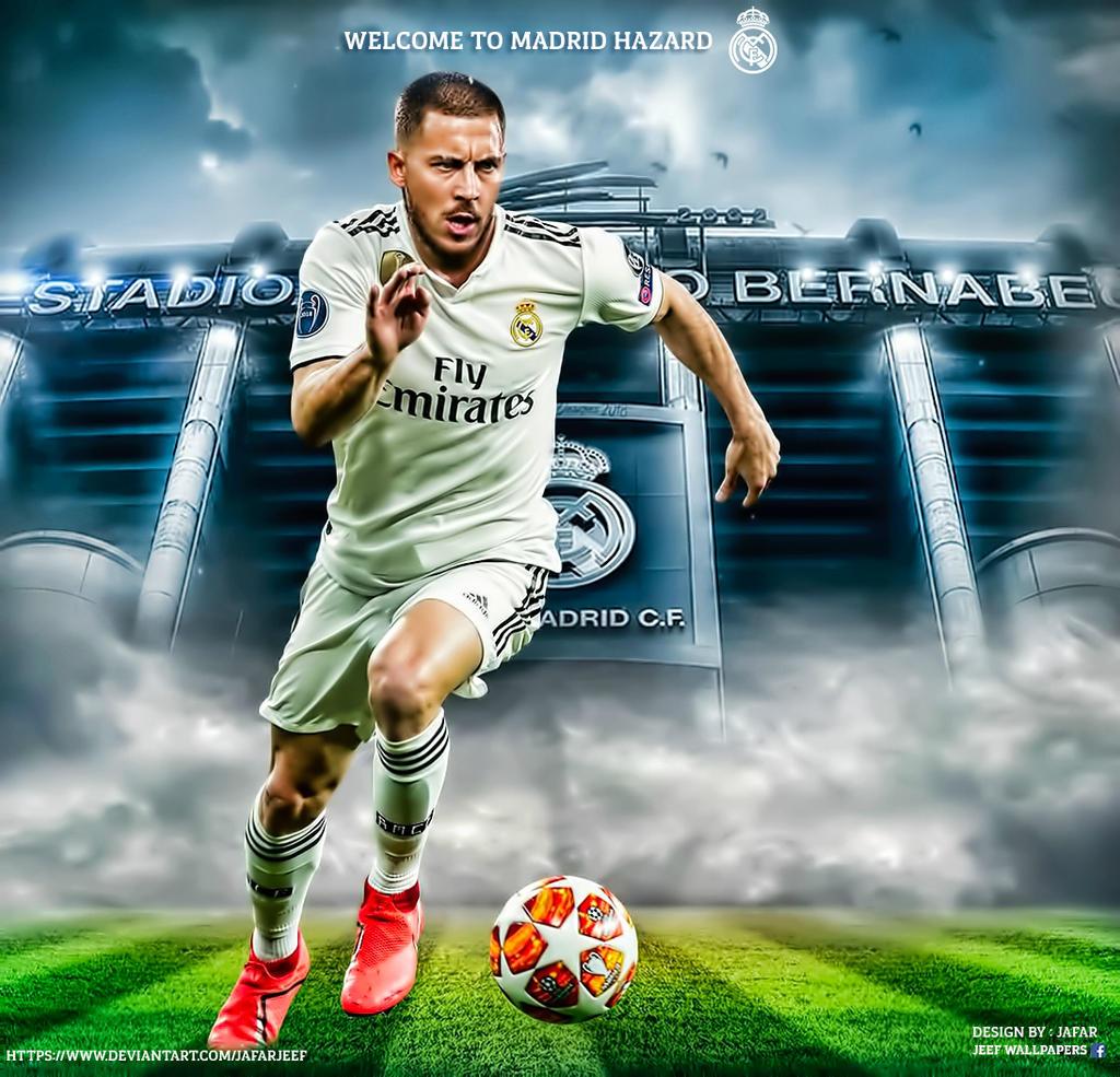 Eden Hazard Real Madrid 2019 By Jafarjeef On Deviantart
