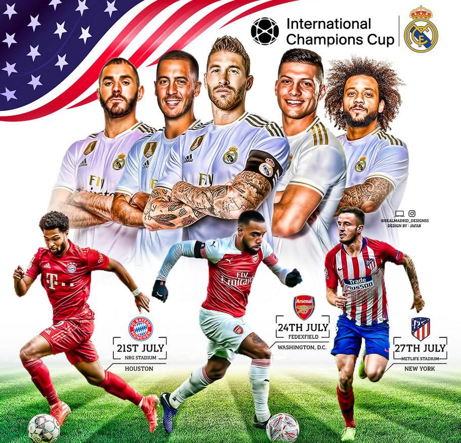 Real Madrid International Champions Cup 2019 By Jafarjeef On Deviantart