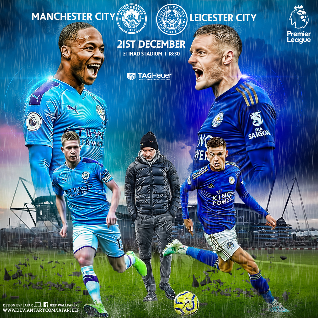 MANCHESTER CITY - LEICESTER CITY by jafarjeef on DeviantArt