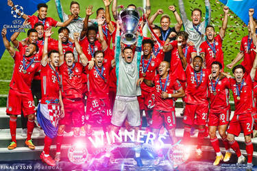 BAYERN MUNCHEN WINNERS CHAMPIONS LEAGUE 2020