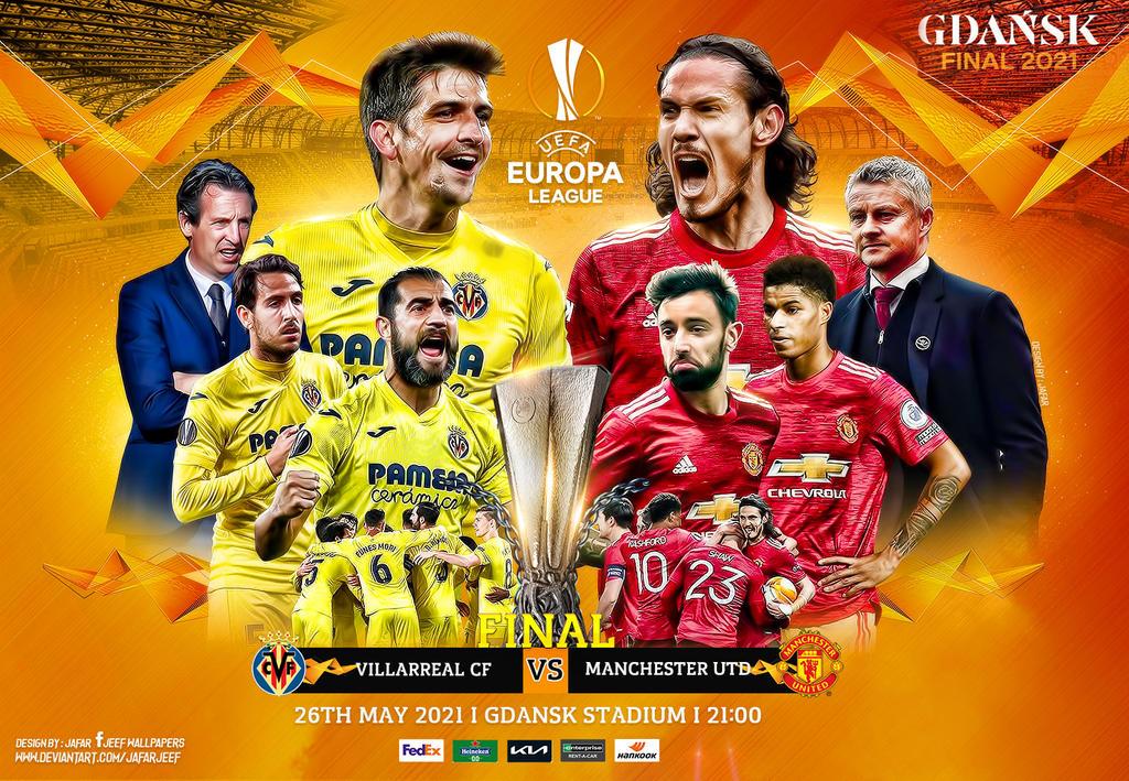 Villarreal Manchester United Europa League Final By Jafarjeef On Deviantart