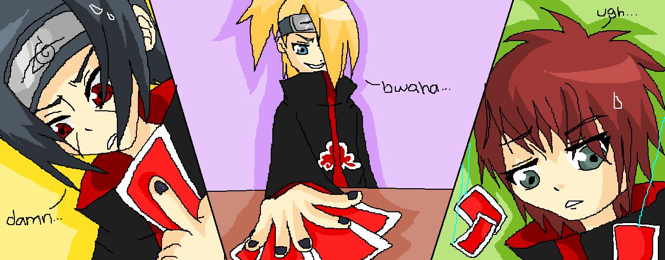 Naruto :: Akatsuki Game Night by sasukee23loveeer ...