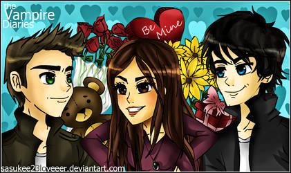 Vampire Diaries :: Valentines by sasukee23loveeer