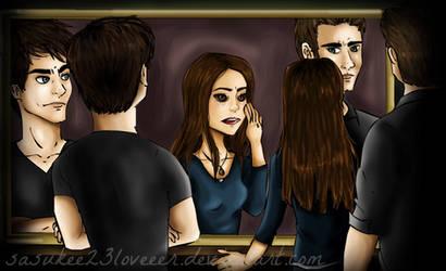 Vampire Diaries :: Vampire Elena by sasukee23loveeer