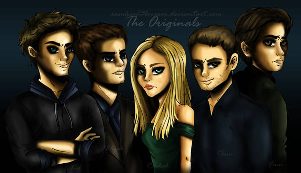 Vampire Diaries :: The Originals by sasukee23loveeer