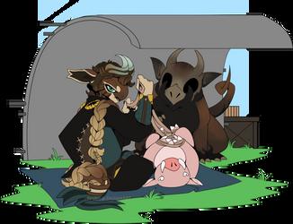 [NnN]://Boar Hunt by fleulys
