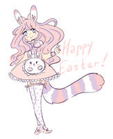 +..Happy Easter!!..+ by QueenMaxinee