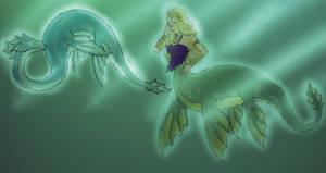 Plesiosaur Mermaid