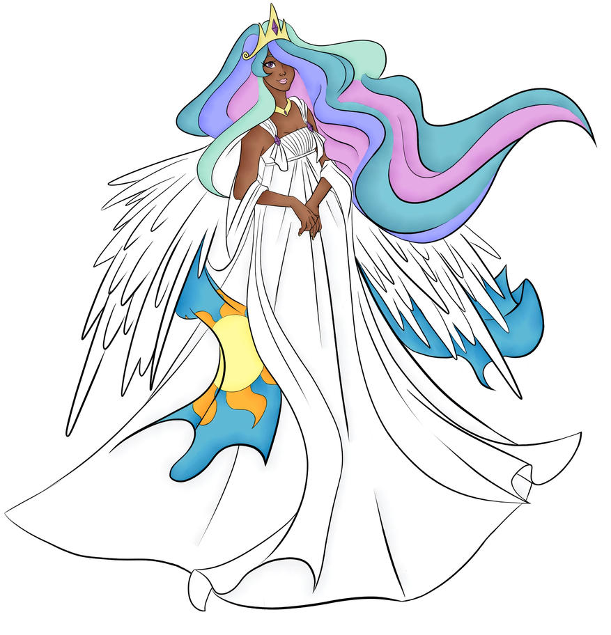 Celestia by Danerboots