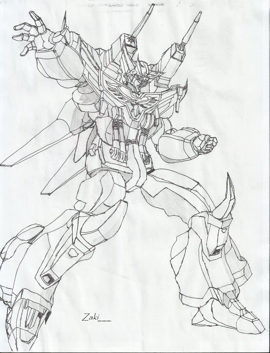 how to draw obari style