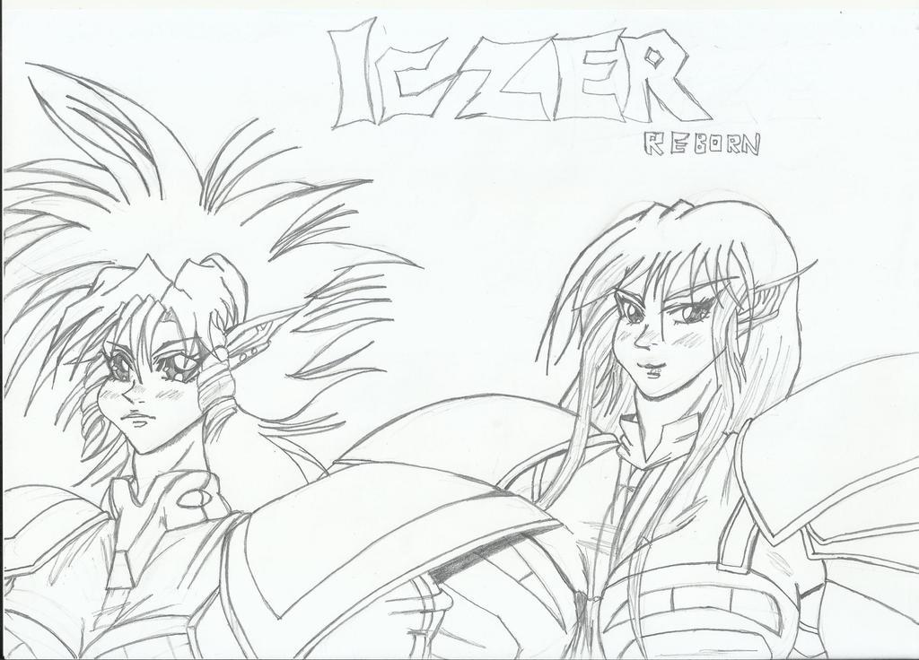 Iczers Reborn Obari Style by RyugaSSJ3