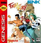 Fatal Fury Sega Genesis Cover