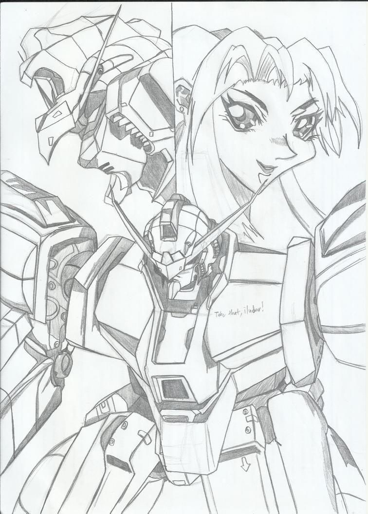 Gundam AGE-3 Zak.Ver. by RyugaSSJ3