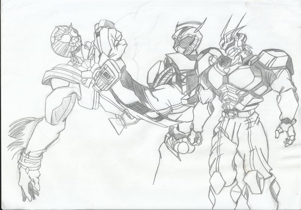 Kamen Rider X Brider Gathering Obari Style by RyugaSSJ3