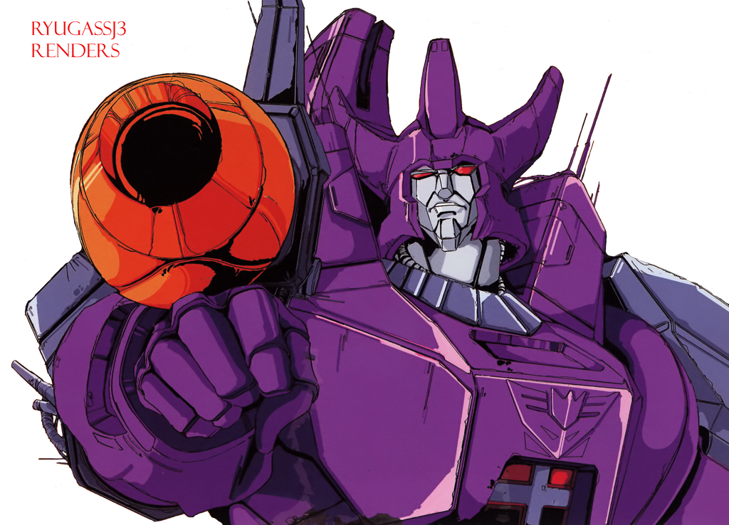 Galvatron Render by RyugaSSJ3