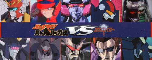 MR Battlehackers vs Brave Kaisers Poster by RyugaSSJ3