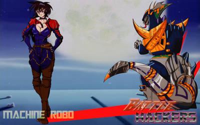 New Warriors - Machine Robo Battlehackers by RyugaSSJ3